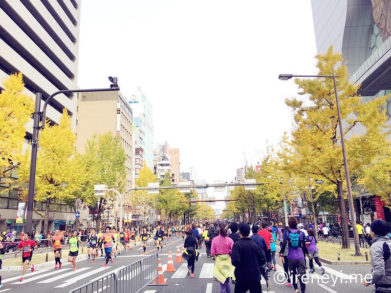 大阪馬拉松2017路線