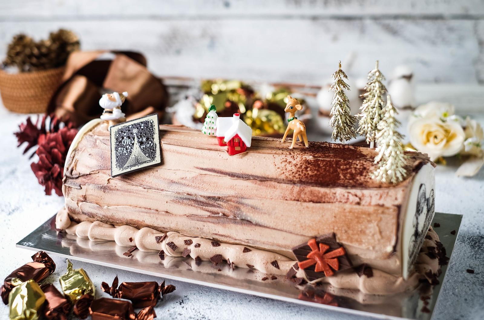 Christmas Log Cakes: Jack's Place