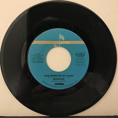 WHODINI:FIVE MINUTES OF FUNK(RECORD SIDE-A)