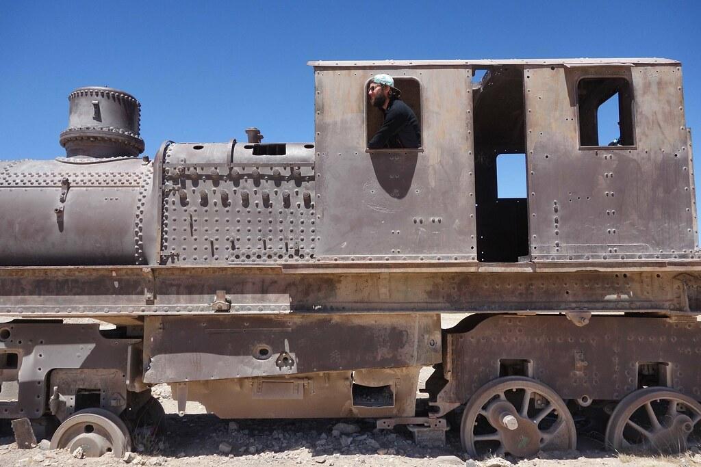 Uyuni - Cimetiere Trains Flo