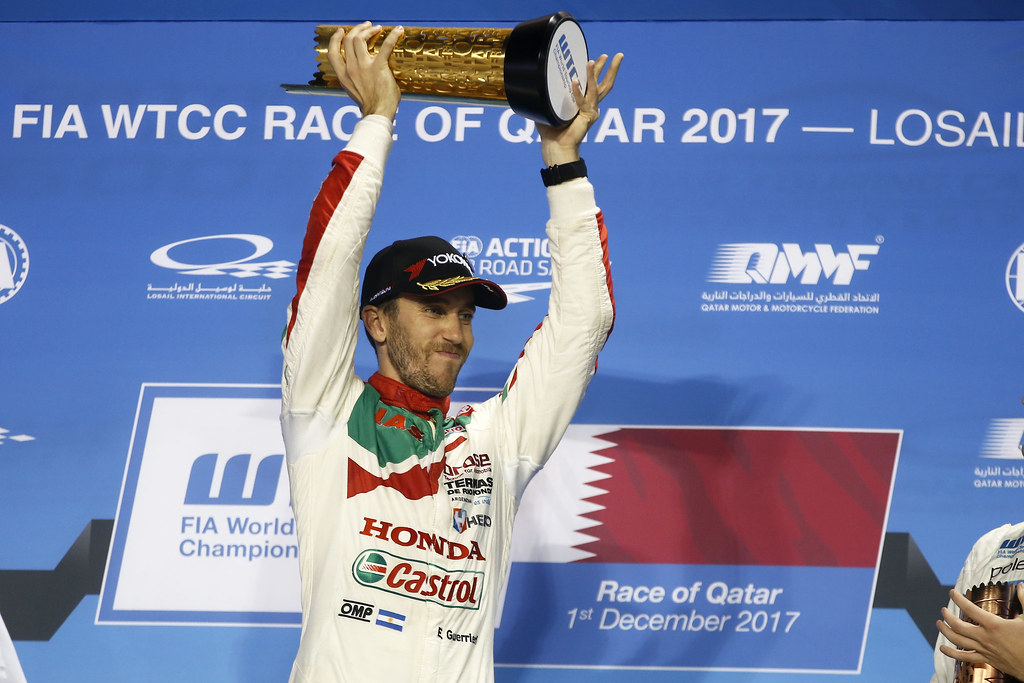 GUERRIERI Esteban, (arg), Honda Civic team Castrol Honda WTC, ambiance portrait during the 2017 FIA WTCC World Touring Car Championship race at Losail  from November 29 to december 01, Qatar - Photo Jean Michel Le Meur / DPPI