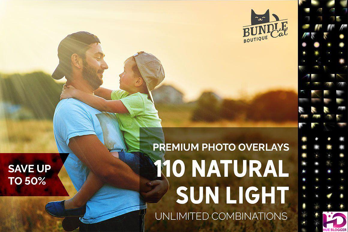 100+ Overlay ánh sáng tự nhiên miễn phí