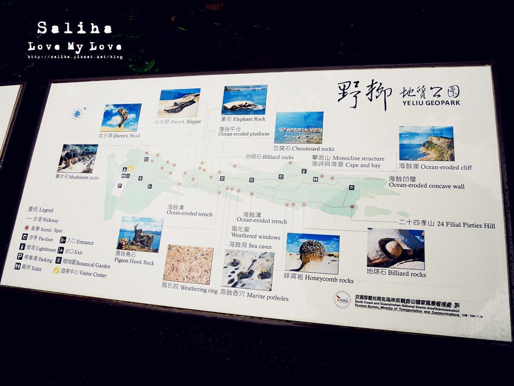 北海岸一日遊海邊景點推薦野柳地質公園  (7)