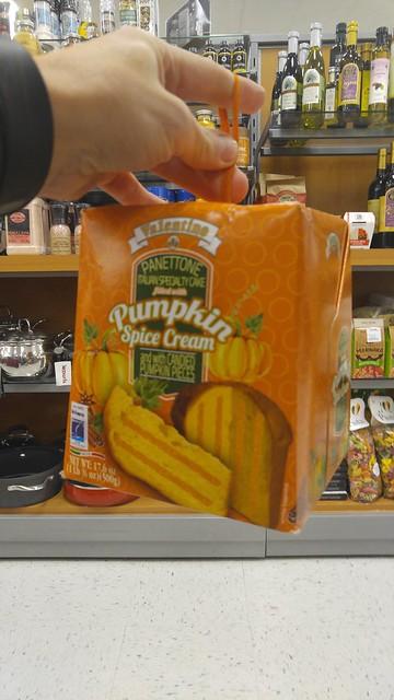 pumpkin spice panettone?