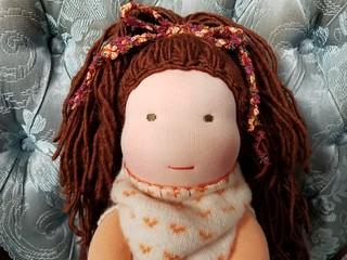 Isabella - Waldorf inspired Scrapper doll