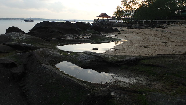 Pulau Ubin Jetty at sunset
