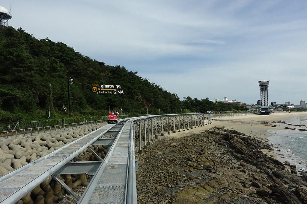 【保寧空中腳踏車】大川海水浴場 韓國海上腳踏車 Sky Bike空中自行車 보령 스카이바이크 @GINA環球旅行生活 不會韓文也可以去韓國 🇹🇼