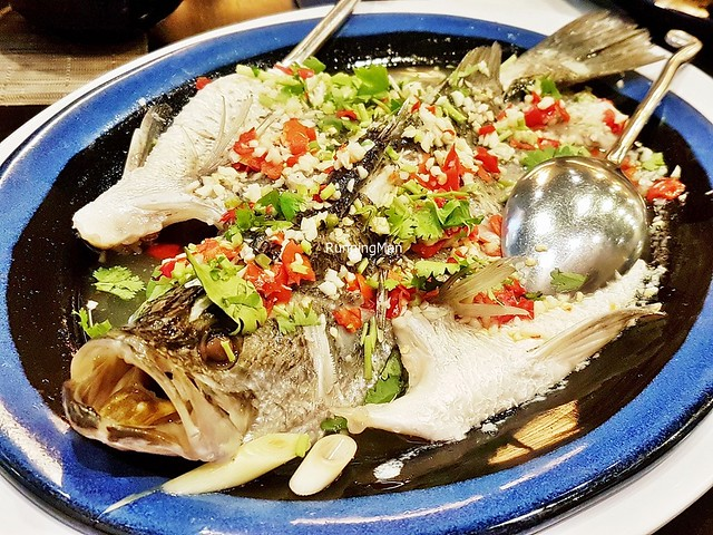 Spicy Steamed Sea Bass Fish