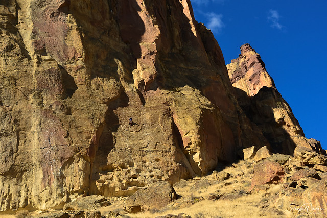 Smith Rock State Park - The Picnic Lunch Wall