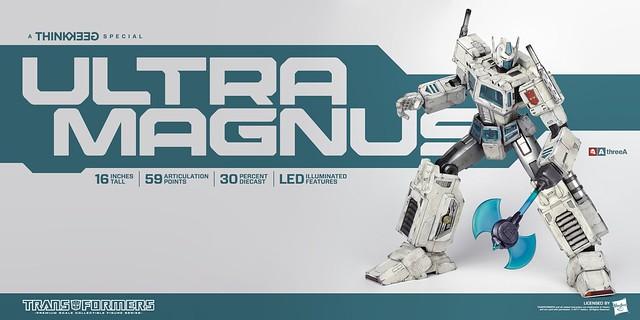 博派永遠的二哥~~ threeA 變形金剛G1 PSC系列【馬格斯】Transformers Generation One Ultra Magnus【ThinkGeek 限定】