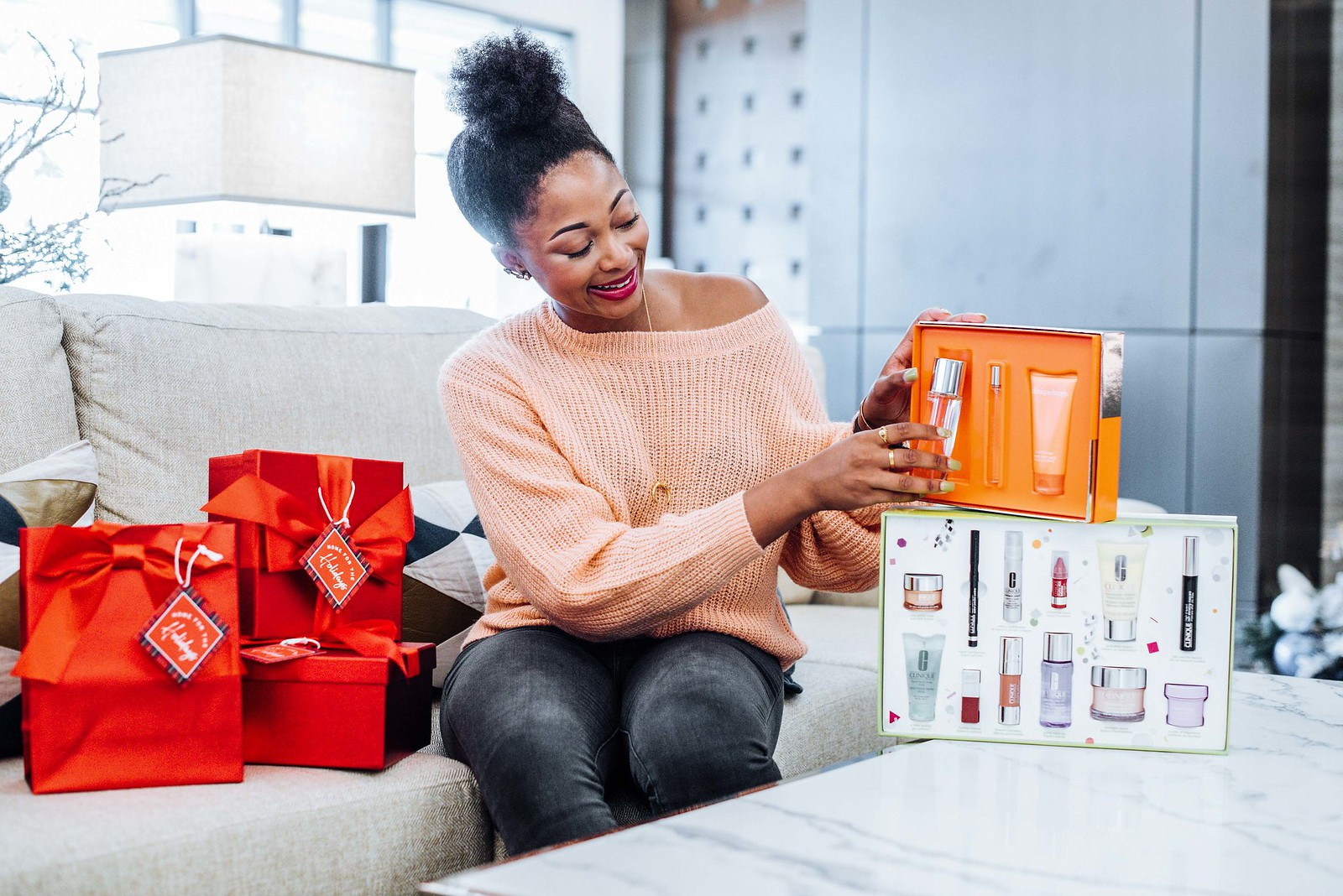 Clinique happy fragrance gift set