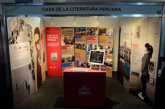 Casa de la Literatura Peruana en la FIL 2017