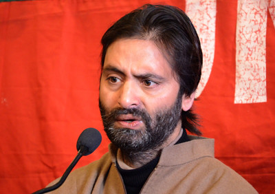 RSS Displaying Force to Bully Muslims in Jammu Yasin Malik