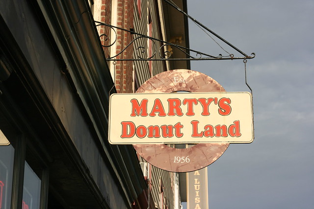 Marty's Donut Land in Ipswich, MA