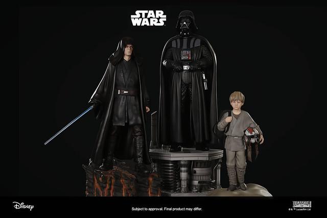 我是絕地武士安納金·天行者,我也是黑武士達斯·維德!!XM Studios Premium Collectibles 系列《星際大戰》達斯·維德 Darth Vader 1/4 比例雕像套組