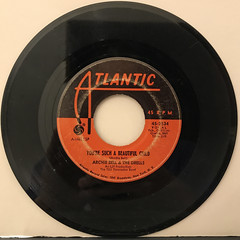 ARCHIE BELL & THE DRELLS:I CAN'T STOP DANCING(RECORD SIDE-B)