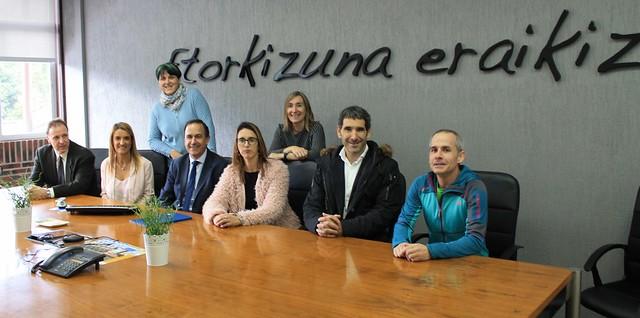 Lea Artibai-Visita Gobierno Vasco