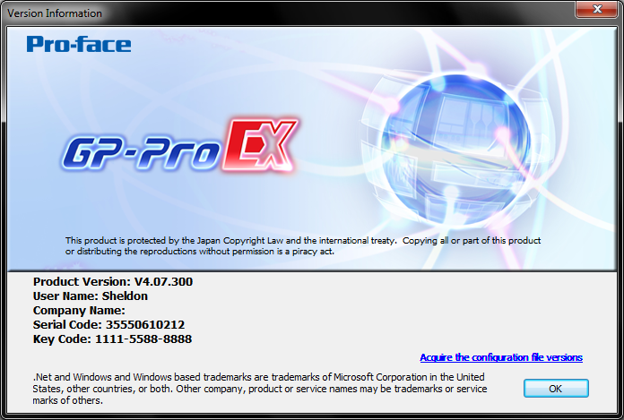 Pro-face GP-Pro EX v4.07.300 full license