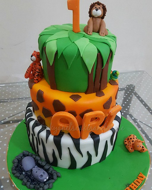 Cake by Kyanel's Cakes and More