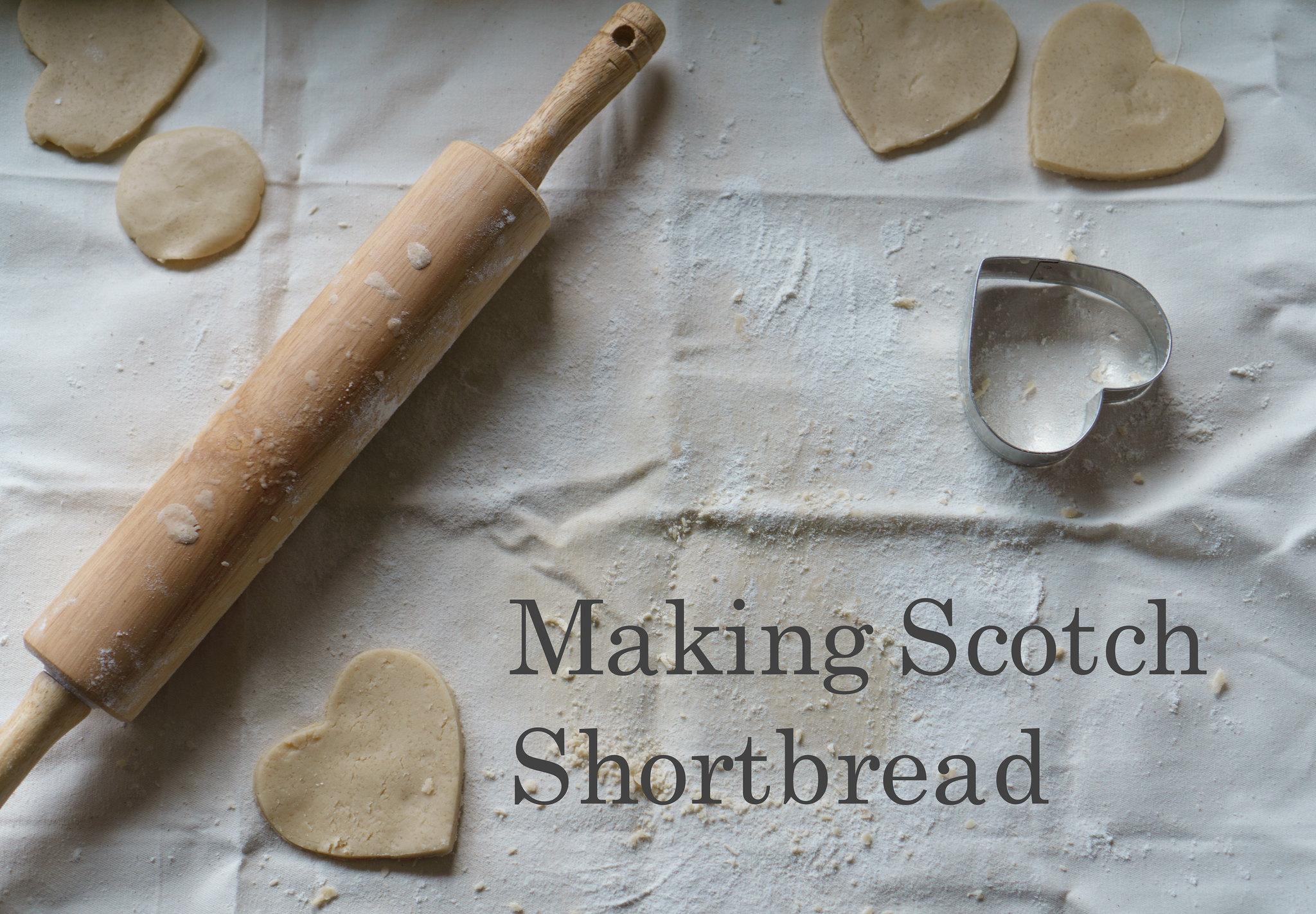 Making Scotch Shortbread
