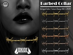 OXIDE Barbed Collar - Remnant