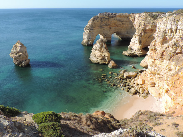 Best Photos Of 2017: Praia da Marinha, Algarve, Portugal