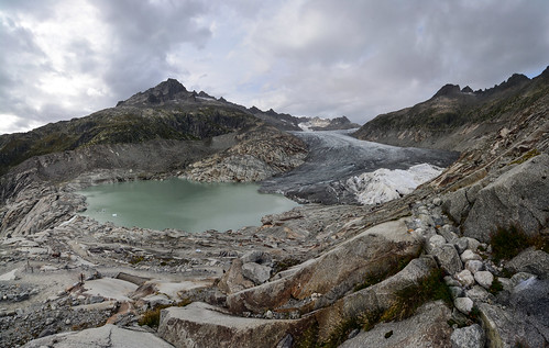 The Rhone Gletscher