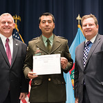 Vi, 10/20/2017 - 14:21 - On October 20, 2017, the William J. Perry Center for Hemispheric Defense Studies hosted a graduation ceremony for its Strategy and Defense Policy course. The ceremony took place in Lincoln Hall at Fort McNair in Washington, DC.