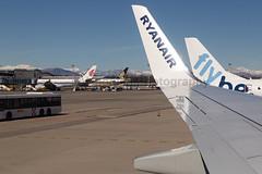 EI-EVM Ryanair B737-800 Milan Malpensa Airport Overview
