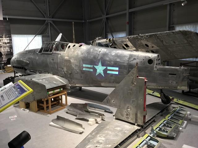 陸軍三式戦闘機飛燕 三式戦飛燕二型かかみがはら航空宇宙科学博物館収蔵庫 535