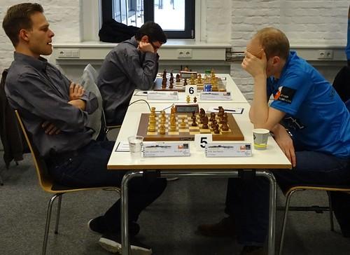 Chess Bundesliga in Aachen: DJK Aufwärts Aachen 4:4 USV TU Dresden & SG Solingen 4.5:3.5 SF Berlin 1903