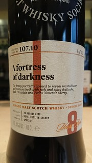 SMWS 107.10 - A fortress of darkness