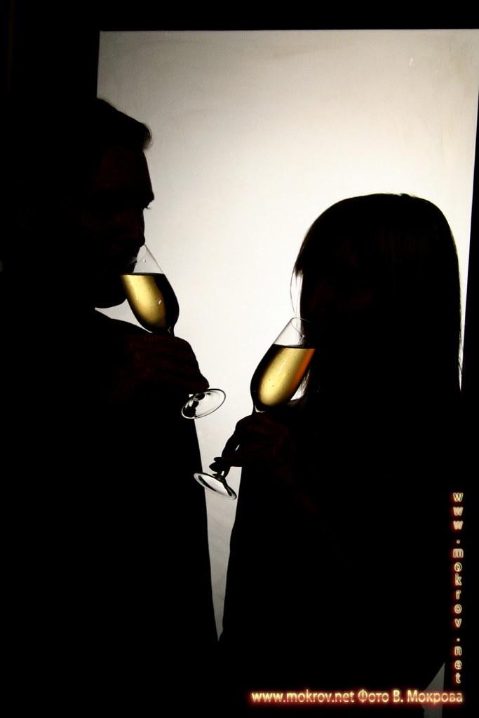 Тени с шампанским