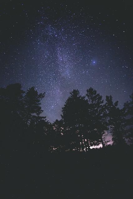 tähtitaivas Suomessa