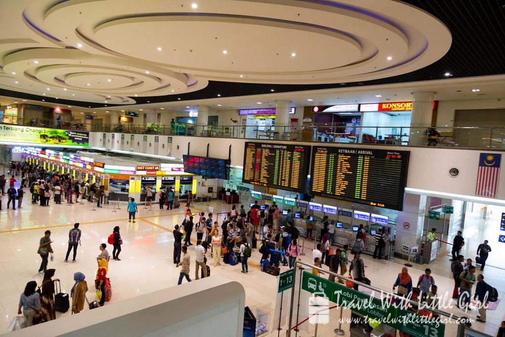 Bus terminal at Malaysia