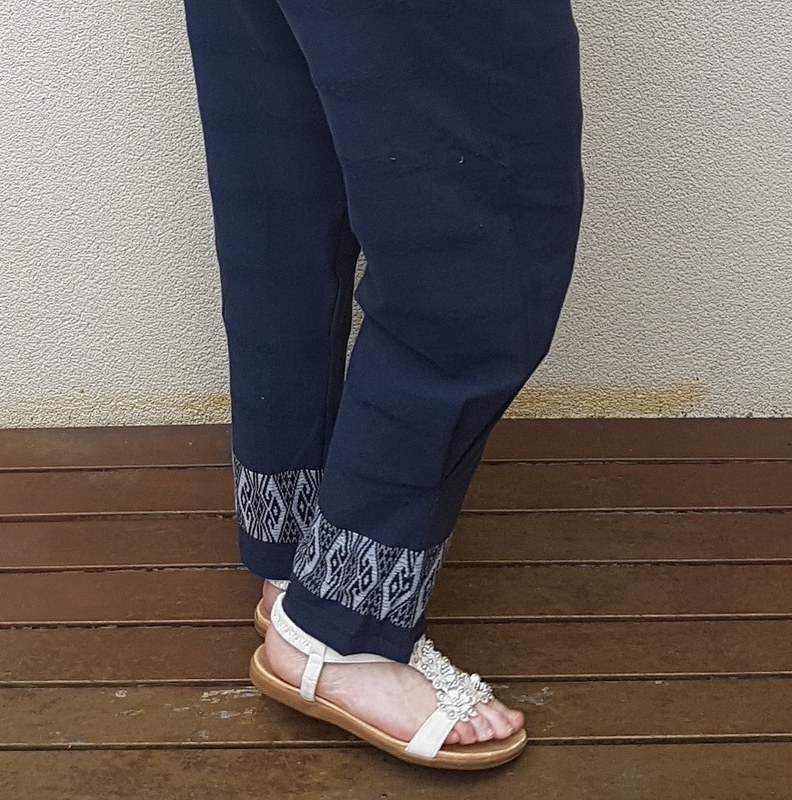 Style Arc Besharl pants in thai cotton