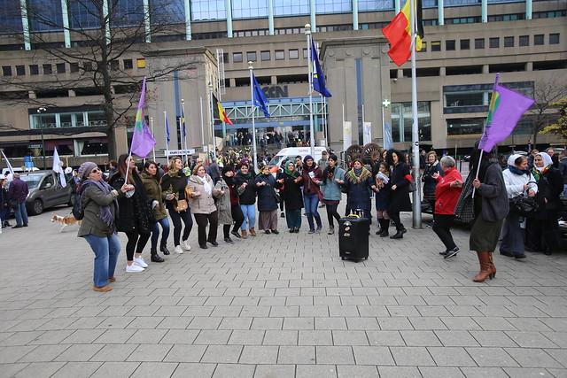Betoging tegen geweld op vrouwen // Jean-Marie