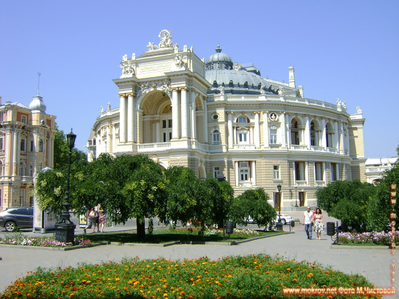 Город Одесса — Украина фотографии сделанные как днем, так и вечером