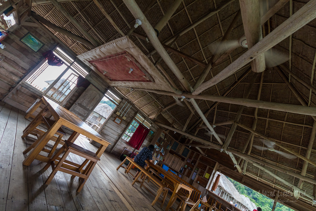 Telunas Beach Resort, Dining Area