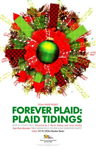 "CFCArts Theatre presents ""Forever Plaid: Plaid Tidings"""