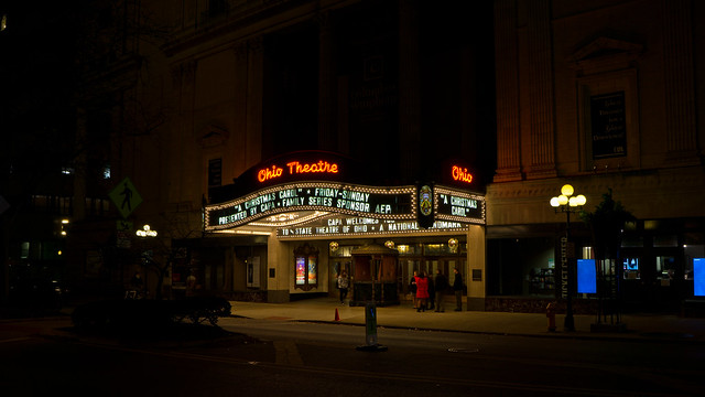 Ohio Theatre, Sony ILCE-6000, Sony E 20mm F2.8