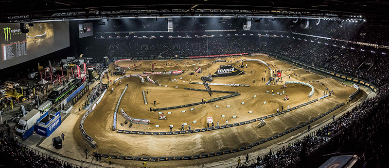 Supercross de Paris à l'U Arena