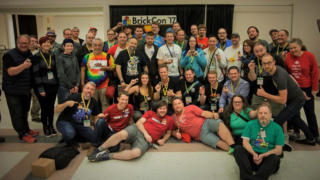 BrickCon 2017 Party Animals! Group Pic