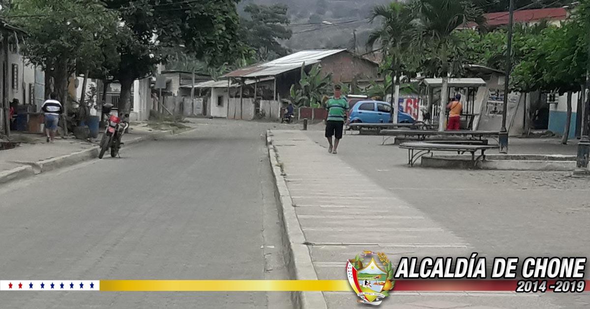 Contratado sistema de alcantarillado sanitario y pluvial en calle Emilio Hidalgo