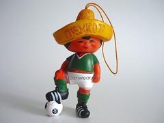 UNUSED VINTAGE JUANITO MEXICO 1970 FIFA WORLD CUP MASKOT