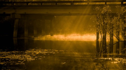 bridge reflection beauty sunrise illumination inspirational paradise heaven heavenly