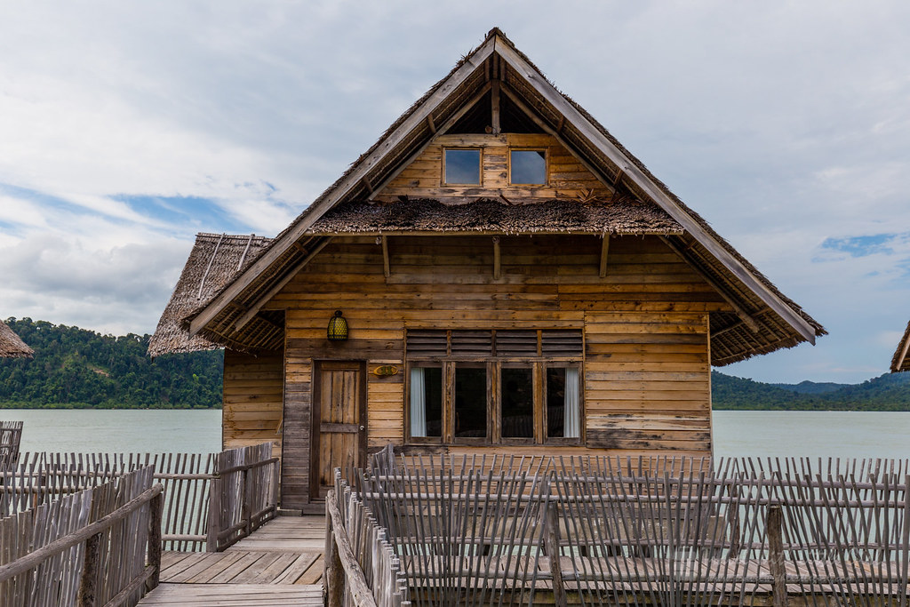 Our house for the next 2 night, Telunas Private Island