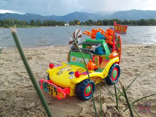 TEENAGE MUTANT NINJA TURTLES :: MIKE'S KOWABUNGA SURF BUGGY .. turns iii (( 1991 ))