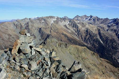 Au sommet de la Pointe Centrale Sud du Ferrouillet (2587 m)