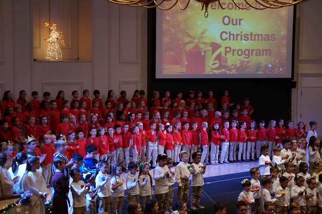 Lower School Christmas Program 2017